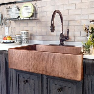 33 inch kitchen sink native trails adam 33 33 inch apron sink wayfair