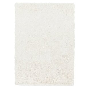 Best Reviews Hallum White Rug By Wrought Studio
