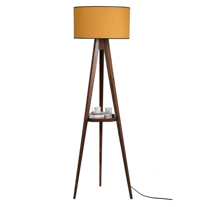 Ebern Designs Bynoe 153cm Tray Table
