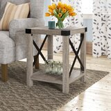Maja End Table by Gracie Oaks