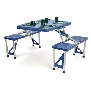 Vada Plastic/Resin Camping Table By Trademark Innovations