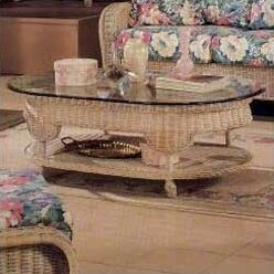 4700 Sanibel Oval Coffee Table by South Sea Rattan Great Reviews