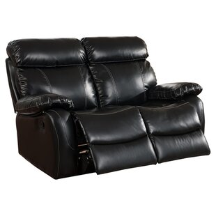 Chateau Leather Reclining Loveseat Primo International
