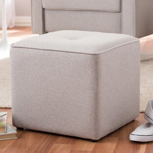 Foye Modern and Contemporary Cube Ottoman Wrought Studio