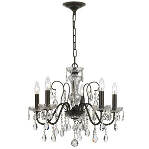 Roney 5-Light Crystal Chandelier