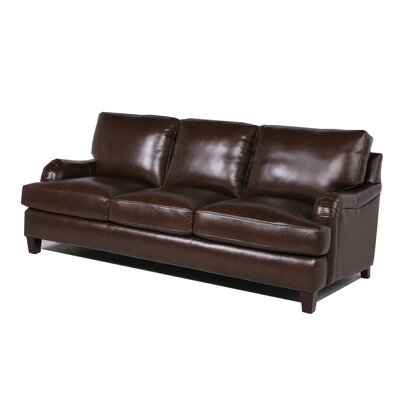 17 Stories Eris Sofa Upholstery Color Chocolate