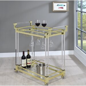 Kalib Serving Bar Cart