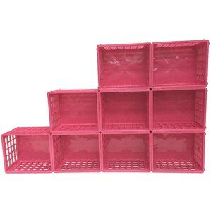 Modular Storage Plastic Cube (Set Of 9)