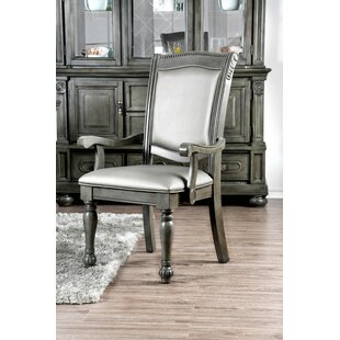 Westover Upholstered Dining Chair (Set Of 2) by Ophelia & Co. Best #1