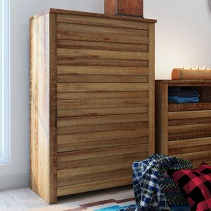 Bear Springs 5 Drawer Chest by Loon Peak