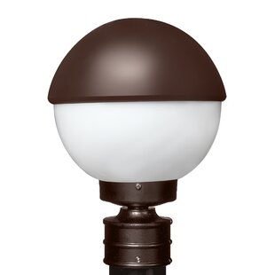 Reviews Donnie 1-Light Glossy Glass Lantern Head By Latitude Run
