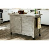 Burt Shiplap Kitchen Island by Rosecliff Heights