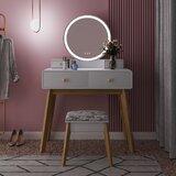 Stevenson Vanity Set with Stool and Mirror by Corrigan Studio®
