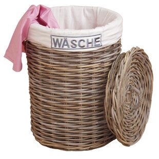Wicker Laundry Basket By Longshore Tides