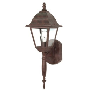 Monmouth 1-Light Outdoor Sconce By Breakwater Bay Outdoor Lighting