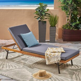 Berghauser Reclining Chaise Lounge with Cushion