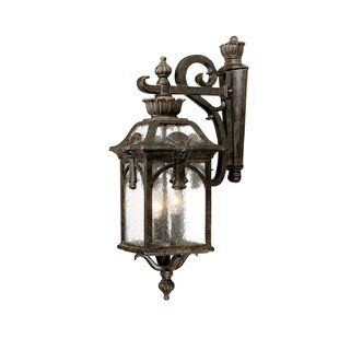 Applebaum 3-Light Outdoor Wall Lantern