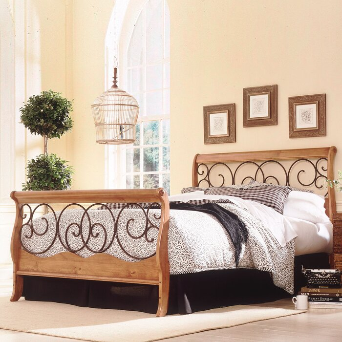 bedroom glass beds complete sleigh product bed queen willowton