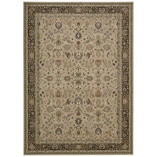 Antiquities Royal Countryside Ivory Area Rug byKathy Ireland Home Gallery