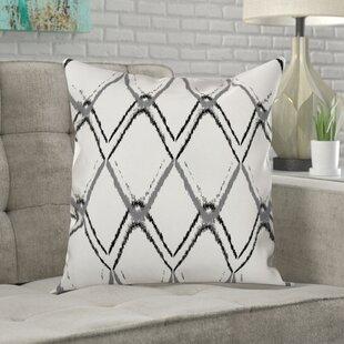 Malbon Diamond Ikat Indoor/Outdoor Throw Pillow