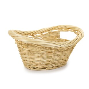 August Grove Willow Wicker Mini Laundry Basket (Set of 16)