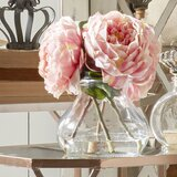 Fancy Roses Centerpiece in Vase