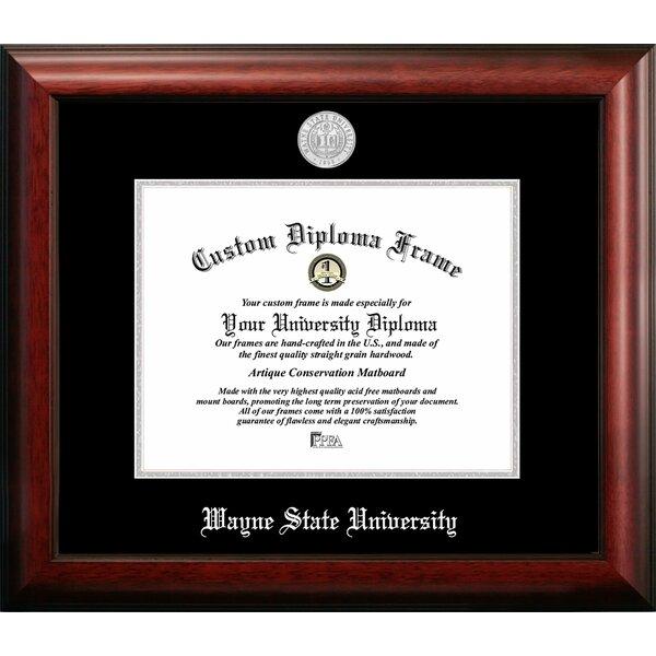 Campus Images Wayne State University Embossed Diploma Picture Frame Wayfair