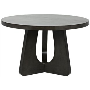 Nobuko Solid Wood Dining Table by Noir