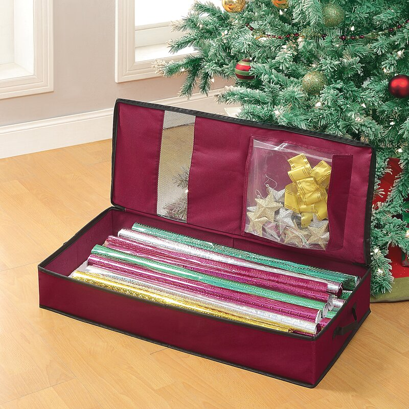 OIA Christmas Gift Wrap Storage