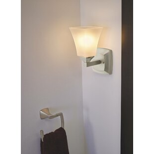 Voss 1-Light Bath Sconce by Moen
