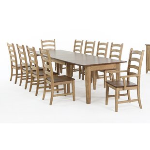 Huerfano Valley Extendable Solid Wood Dining Table
