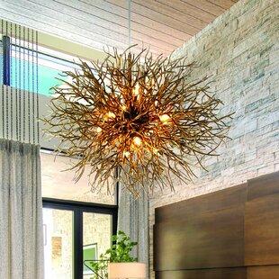 Sierra 12 Light Sputnik Pendant By Troy Lighting