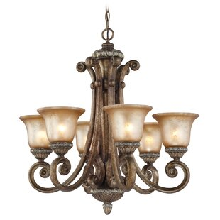 Dolan Designs Carlyle 6-Light Shaded Chandelier