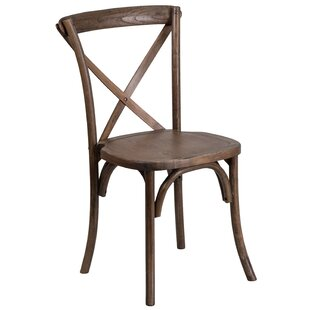 Norma Solid Wood Dining Chair Mistana