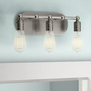 Beachcrest Home Emory 3-Light Horizontally Vanity Light