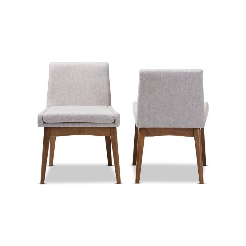 Brayden StudioStallman Mid Century Modern Upholstered Dining Chair
