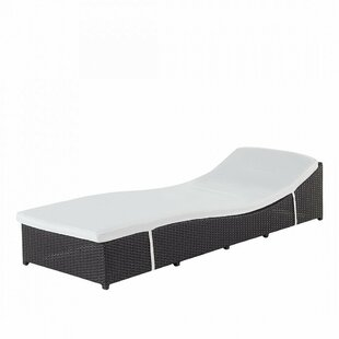 Garden Sun Lounger With Cushion By Sol 72 Outdoor