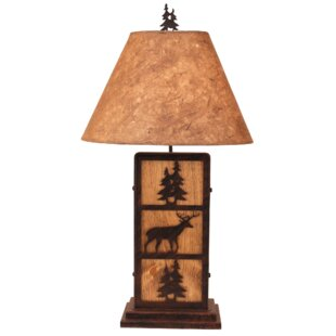 Camilla Deer and Tree 32 Table Lamp
