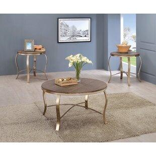 Willa Arlo Interiors Kallie 3 Piece Coffee Table Set