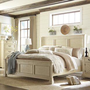 Lark Manor Alsace Traditional Wood Panel Bed