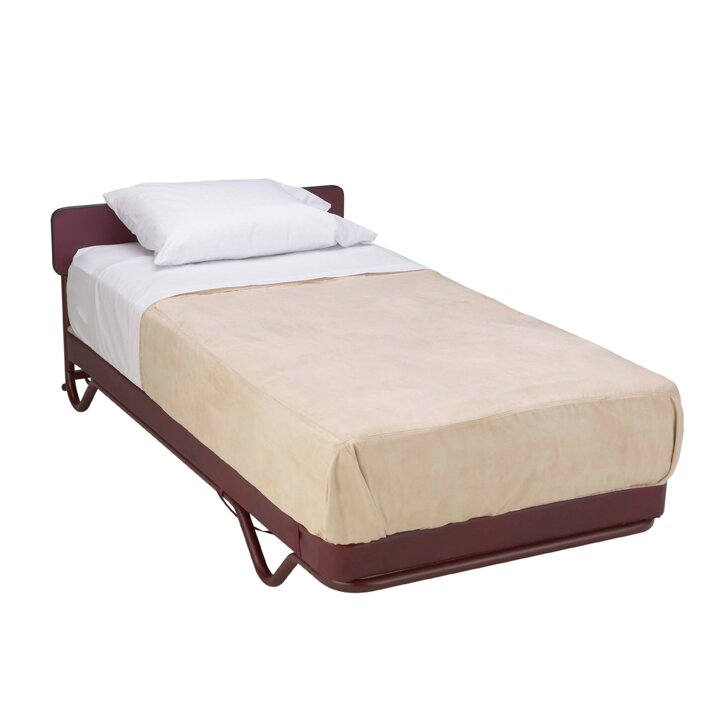 Mobile Adjustable Bed Base and mattress on sensor pads, rv pads, motel pads, pier pads, make up pads, traction pads, concrete step pads, paper pads, preformed concrete pads, garage pads, mobile fence,