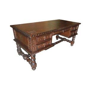Navarette Executive Leather Desk