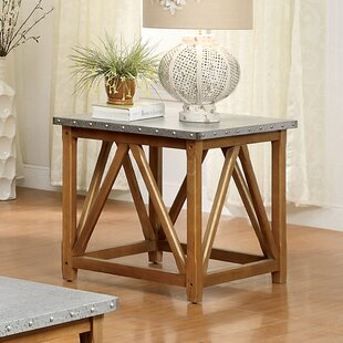 Compare prices Aleah End Table By Gracie Oaks