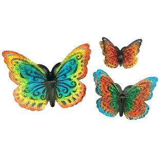 Outdoor wall decor butterfly