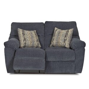 Perry Reclining Loveseat by Klaussner Furniture