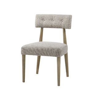 Huntington Upholstered Dining Chair (Set of 2) George Oliver