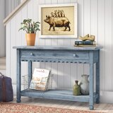 Mangum 42 Solid Wood Console Table by Laurel Foundry Modern Farmhouse