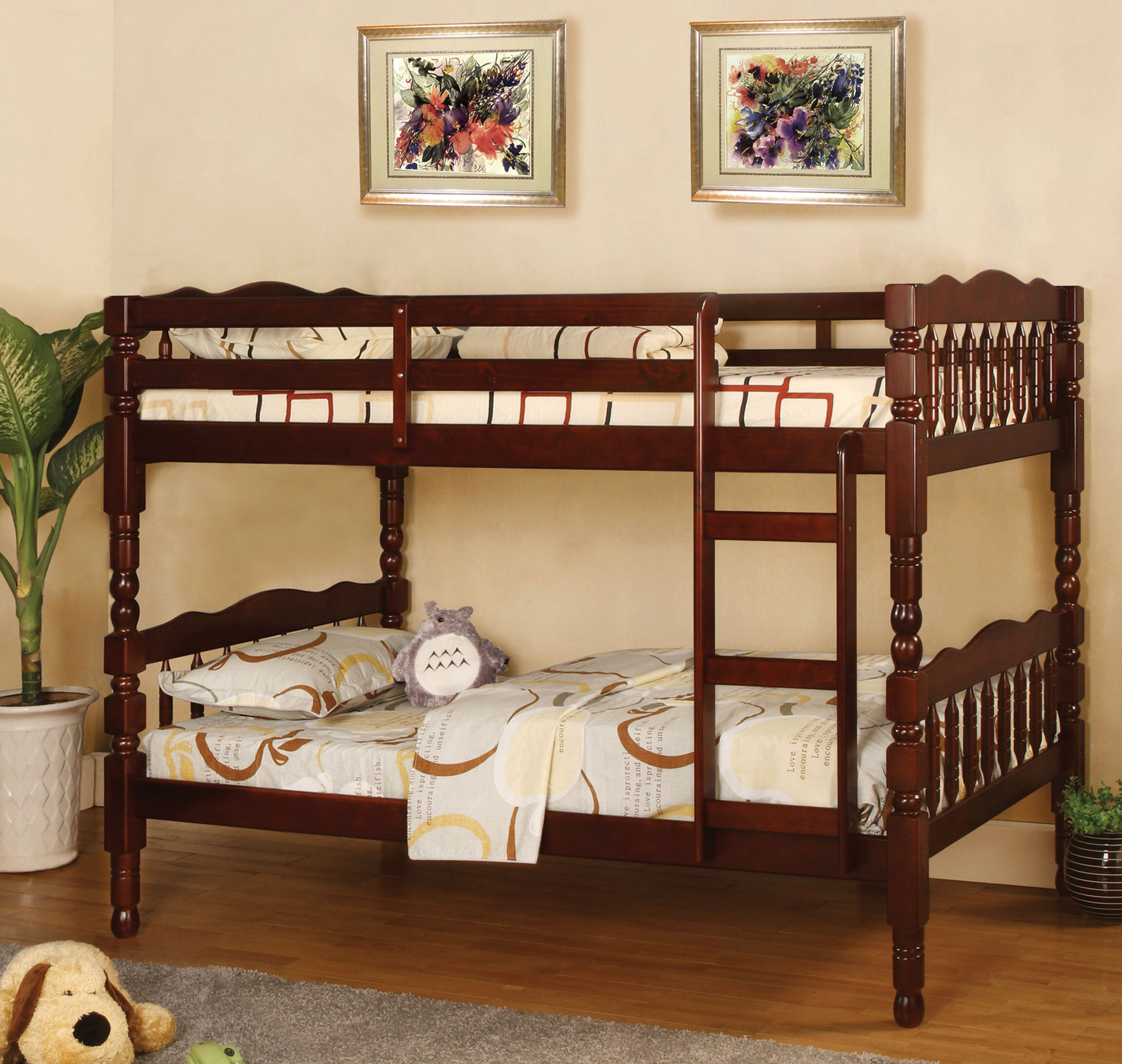 Baltimore Twin over Twin Bunk Bed