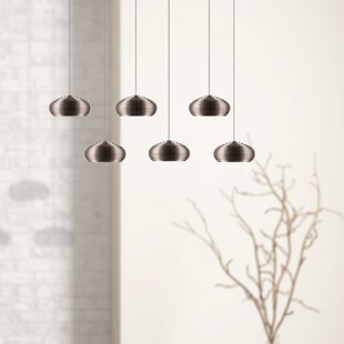 Chana 6-Light LED Cluster Pendant by Orren Ellis