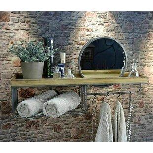 Sapelo 80cm X 46cm Bathroom Shelf By Borough Wharf
